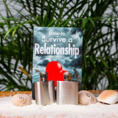 Cadeau pour son copain - Flasques de Survie Relation