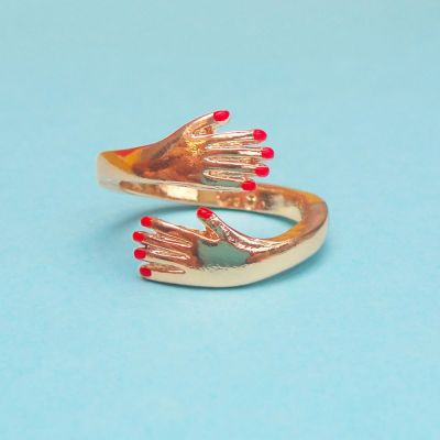 Accessoires - Bague câline en or