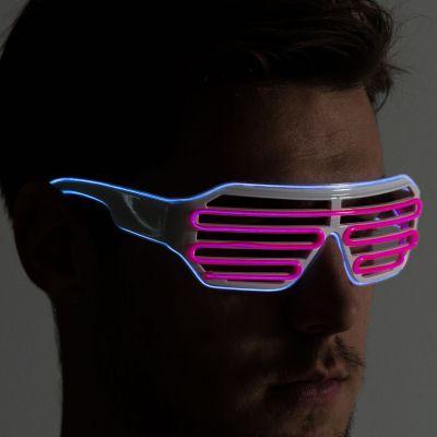 Cadeaux rigolos - Lunettes LED de Couleurs