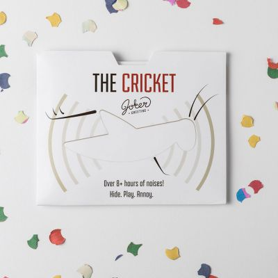 Cartes - Carte piégée The Cricket