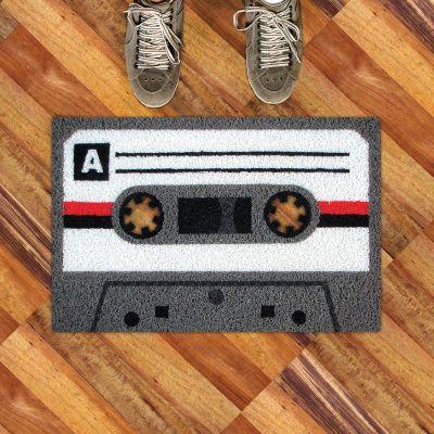 Idées cadeaux parents - Paillasson cassette