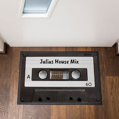 Décoration & Mobilier - Paillasson personnalisable Cassette Audio