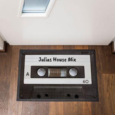 Objets Rétro & Vintage - Paillasson personnalisable Cassette Audio