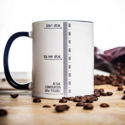 Thé ou café - Tasse à niveau