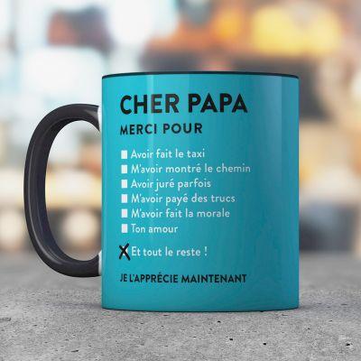 Cadeau frère - Tasse Cher Papa