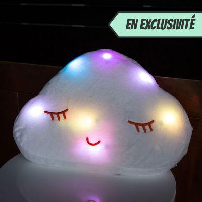 Cadeau romantique - Coussin Lumineux Nuage