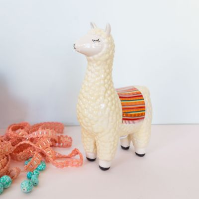 Cadeau Enfant - Tirelire Lama