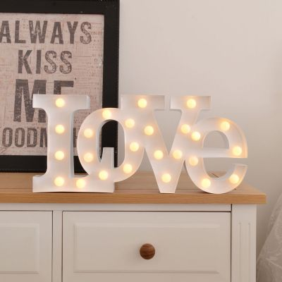 Éclairage - Lampe LED – Love