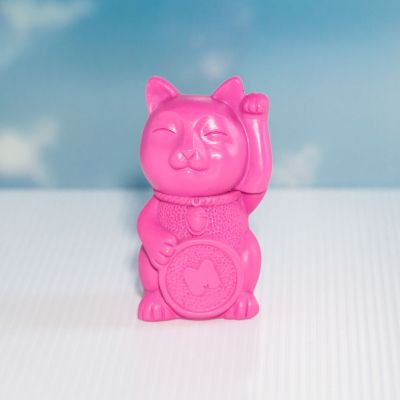 Cadeau Enfant - Surligneur Rose Maneki-neko