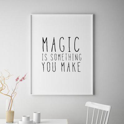 Poster à la carte - Magic Poster par MottosPrint