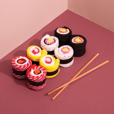 Idées cadeaux pour mettre dans le calendrier de l'avent - Chaussettes Sushis