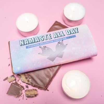 Idées cadeaux pour mettre dans le calendrier de l'avent - Chocolat Ayurveda Namaste