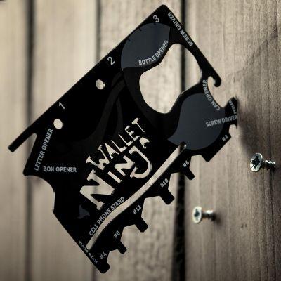 Cadeau 50 ans - Carte Ninja 18 outils en 1