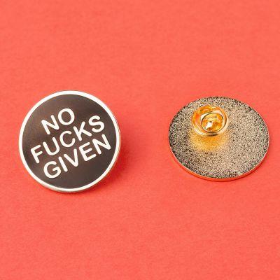 Accessoires - Pin's No Fucks Given