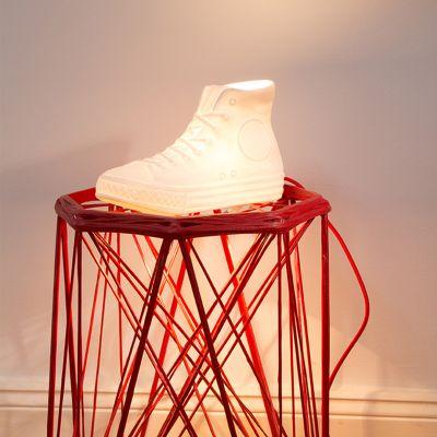 Objets Rétro & Vintage - Lampe Porcelaine N.Y.C