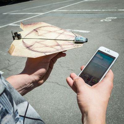 Cadeau de Noël pour homme - PowerUp 3.0 – système de téléguidage pour avion en papier