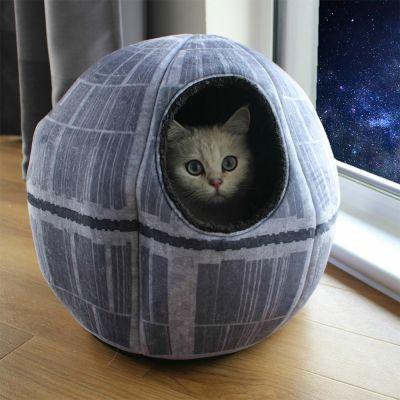 Nouveautés - Grotte pour chat Star Wars - Étoile de la Mort