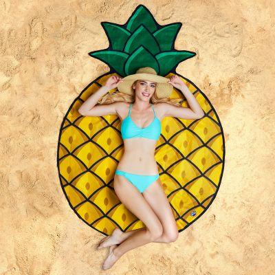 Cadeaux de Noël pour maman - Serviette de plage Ananas