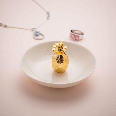 Cadeaux de Noël pour maman - Soucoupe à bijoux Ananas