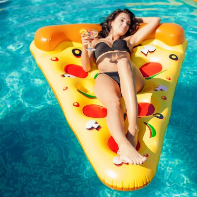 Cadeau frère - Bouée gonflable Pizza