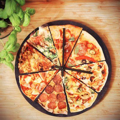 Cadeaux rigolos - Horloge Pizza
