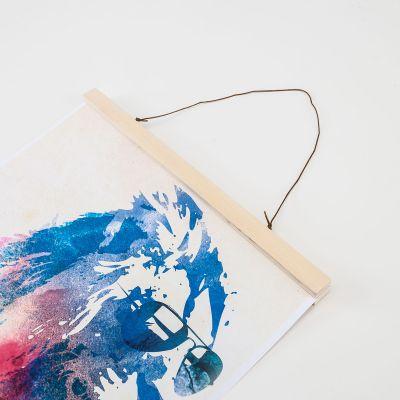 Décoration & Mobilier - Poster Hanger en Bois