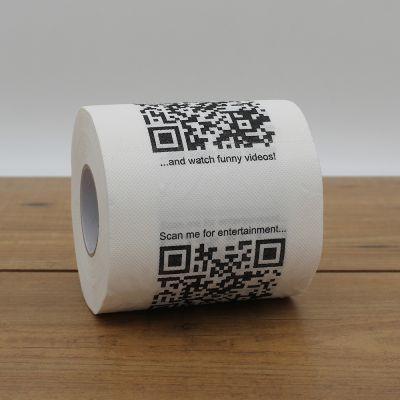 Idées cadeaux pour mettre dans le calendrier de l'avent - Papier Toilette avec QR Codes