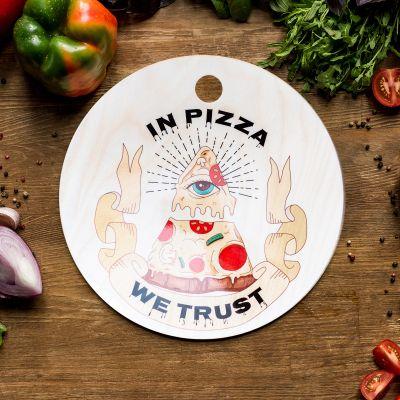 Nouveautés - Planche à découper In Pizza We Trust
