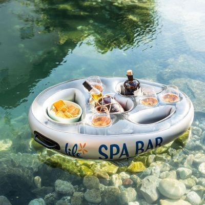 Idées cadeaux parents - Bar flottant pour Spa et bain à remous (gonflable)