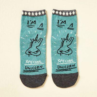 Petits cadeaux pas cher - Chaussettes I'm A Special Unicorn