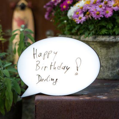 Idées cadeaux parents - Lampe BD Personnalisable