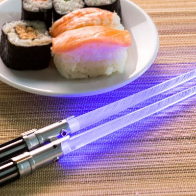L'univers Star Wars - Baguettes sabres lasers Star Wars