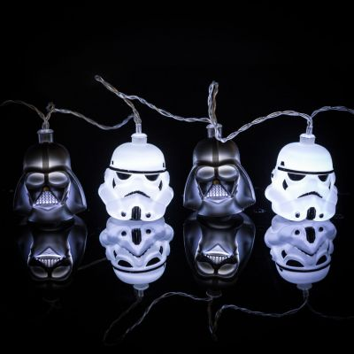 L'univers Star Wars - Guirlande Lumineuse Star Wars Dark Vador & Stormtrooper