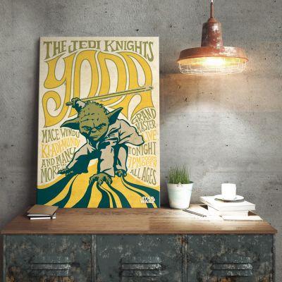 L'univers Star Wars - Poster métallique Star Wars – Yoda