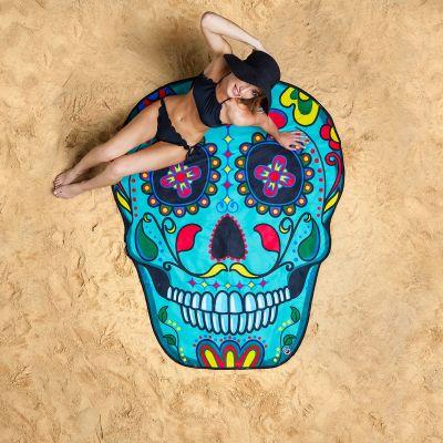 Voyages - Serviette de plage Sugar Skull