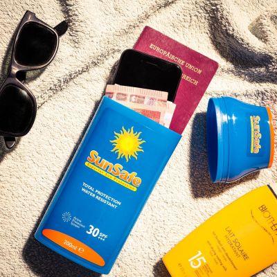 Cadeau 20 ans - SunSafe – Cachette Crème Solaire