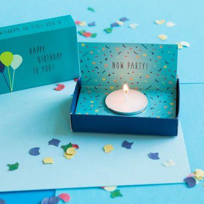 Cadeau anniversaire Homme - Boite Surprise d'Anniversaire