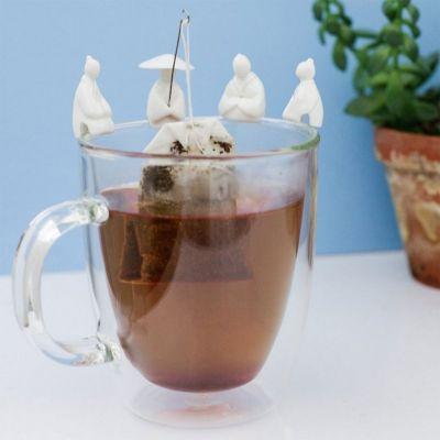 Cadeaux de Noël pour maman - Porte-sachet de thé - 4 Pêcheurs