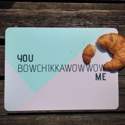 Nouveautés - Sets de table You Bowchiccawowwow Me – Ensemble de 4