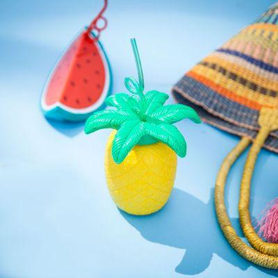Outdoor - Gobelet Fruit tropical avec sa Paille