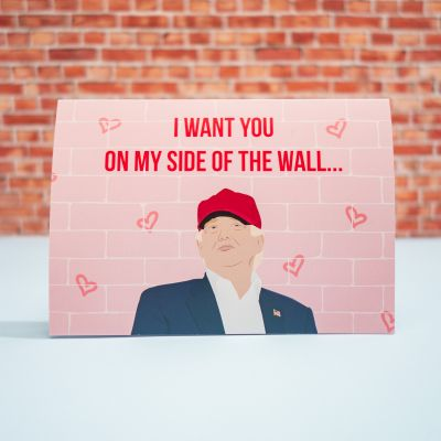 Idées cadeaux pour mettre dans le calendrier de l'avent - Carte d'amour – De mon côté du mur