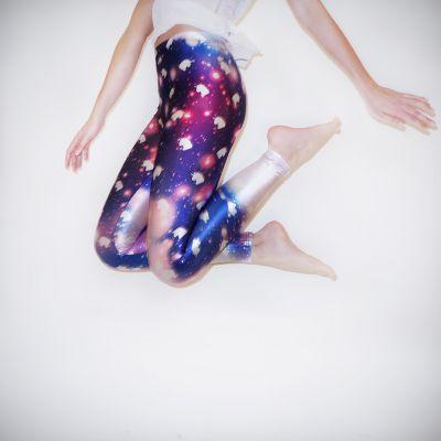 Cadeaux Licorne - Legging Galaxie Licorne