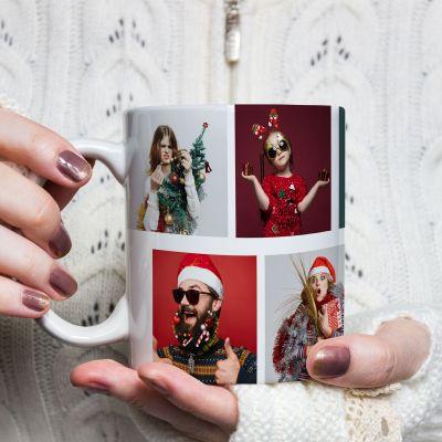 Idées cadeaux pour mettre dans le calendrier de l'avent - Tasse Photo Personnalisable