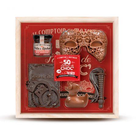 Coffret 50 Nuances de Chocolat