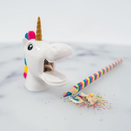 Taille-crayon licorne