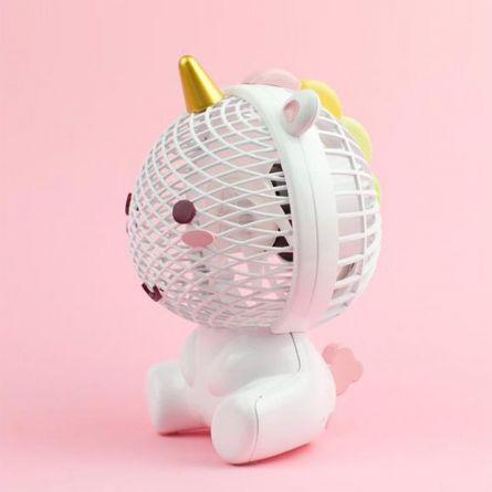 Ventilateur Élodie la Licorne avec USB