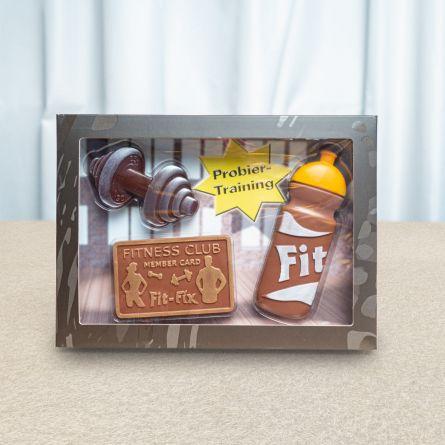 Coffret Fitness en Chocolat