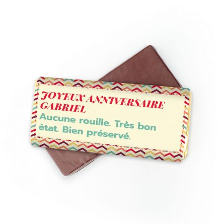 Chocolat Personnalisable