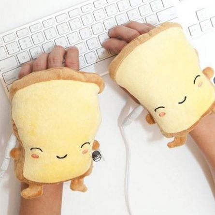 Chauffe-mains USB Toast