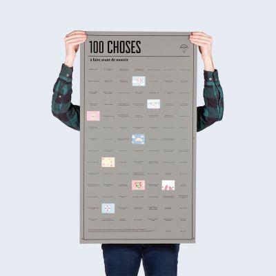 Posters - Poster 100 choses, que vous devez faire avant de mourir